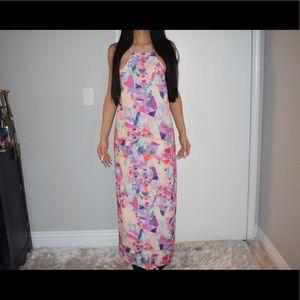 NastyGal summer maxi dress